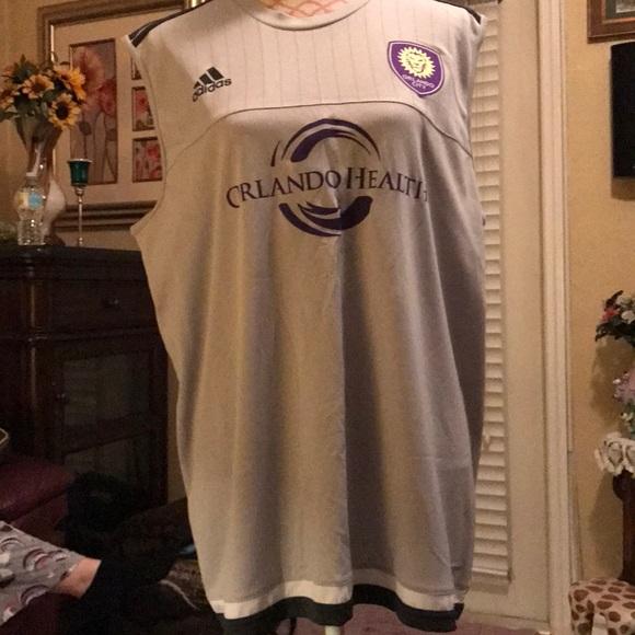 huge discount 2978e 4dc22 Adidas Orlando City MLS Jersey Size XL
